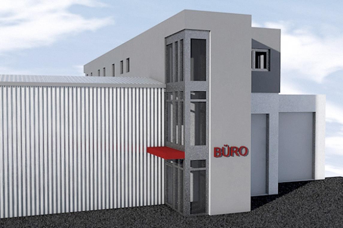 Ab 2019 erfolgt eine weitere größere Bauetappe bei TruckCenter Katzinger, bei der auch neue Büroräumlichkeiten entstehen. Das Ziel ist eine bestmögliche Nutzung der Fläche.
