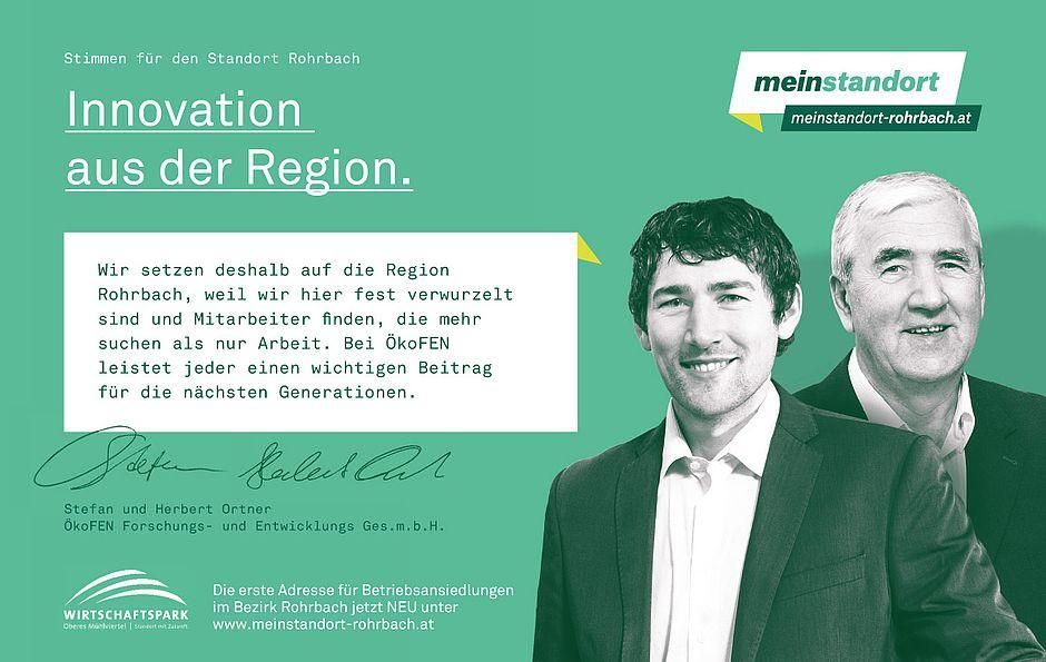Stimmen für den Standort Rohrbach, ÖkoFEN