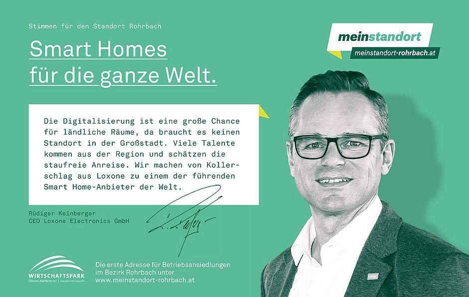 Stimmen für den Standort Rohrbach, Loxone